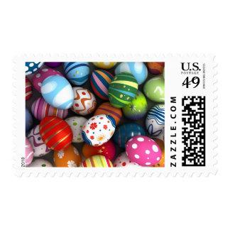 Easter Background Postage
