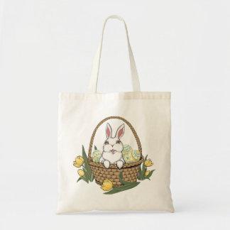 Easter Bag Tote Bag Easter Bunny Art Shopping Bag