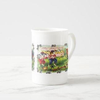 Easter Baseball Tea Cup