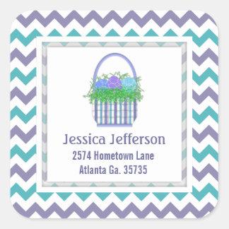 Easter Basket Address Stickers