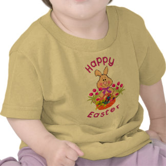 Easter Basket Bunny T-shirt