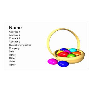 Easter Basket Business Cards