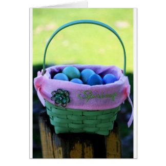 Easter Basket Card