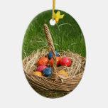 Easter Basket Christmas Ornament