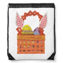 Easter Basket Drawstring Bag