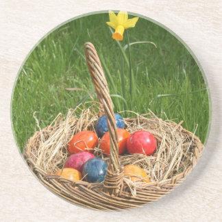 Easter Basket Drink Coaster