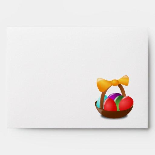 Easter Basket Envelope