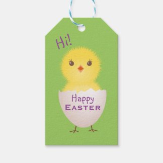Happy easter gift tags zazzle easter basket gift tags negle Images