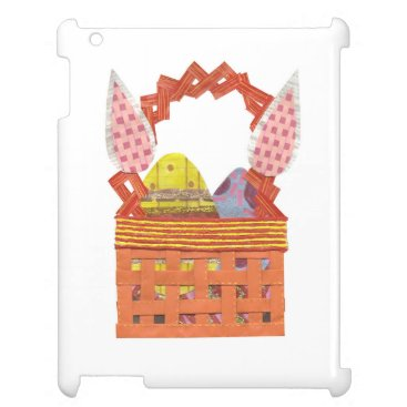 Easter Basket I-Pad 2/3/4 Back Case For The iPad