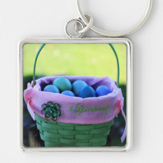 Easter Basket Keychain