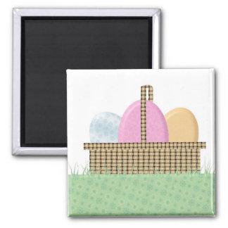 Easter Basket Magnet