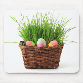 Easter Basket Mouse Pad