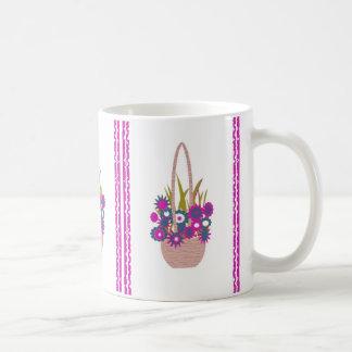 Easter Basket of Flowers Mug
