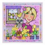 """Easter Basket of Love"" Art Print"