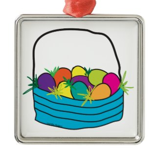 Easter Basket Ornaments
