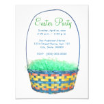 Easter Basket Party Invites