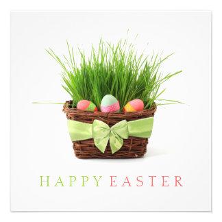 Easter Basket Picnic invitation