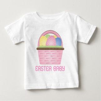 Easter Basket Polka Dot Baby Tee