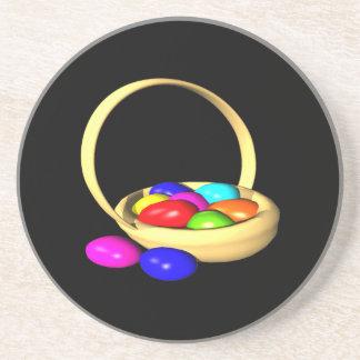 Easter Basket Sandstone Coaster