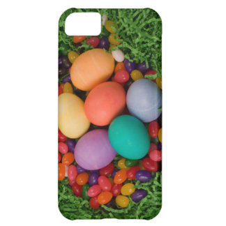 Easter Basket - Spring Colored Eggs Jelly Beans Case For iPhone 5C