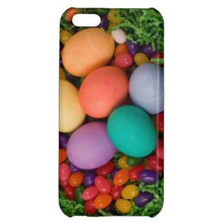 Easter Basket - Spring Colored Eggs Jelly Beans iPhone 5C Case