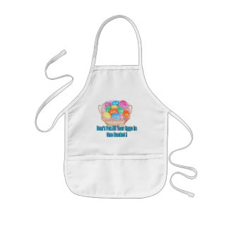 Easter Basket T shirts and Easter Gifts Kids' Apron
