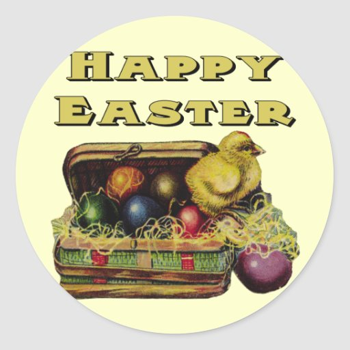 Easter Basket T shirts and Easter Gifts Sticker