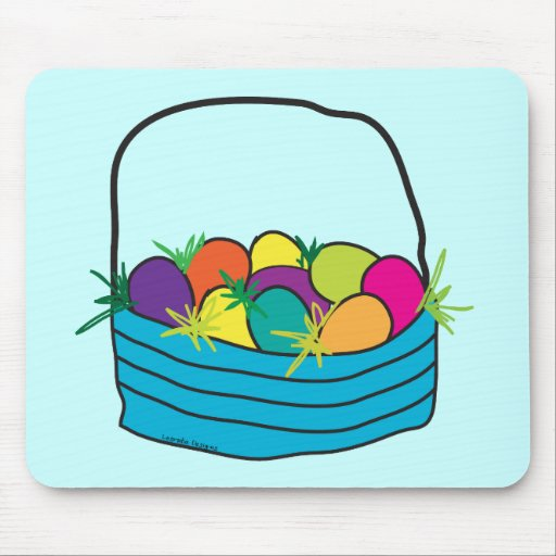 Easter Basket Tees and Gifts Mousepad