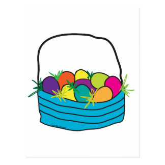 Easter Basket Tees and Gifts Postcard