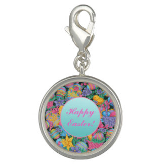 Easter Baskets and Eggs Photo Charms