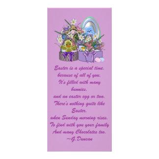 Easter Baskets Rack Card