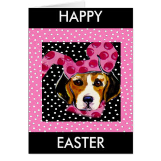 Easter Beagle Cards