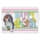 Easter Beagle Puppy Card