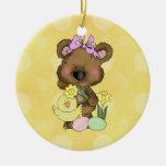 Easter Bear ornament