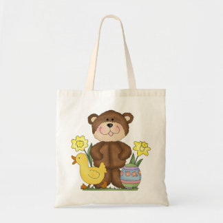 Easter Bear tote bag