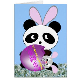 Easter Bear..uh.. Bunny Greeting Card