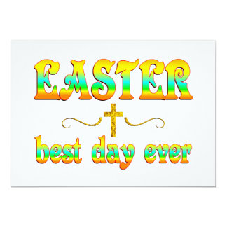 Easter Best Day Ever Card