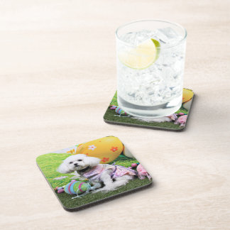 Easter - Bichon Frise - Mia Coasters