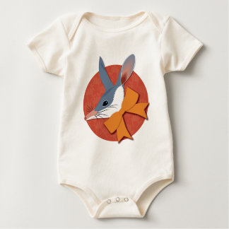 Easter bilby baby bodysuit