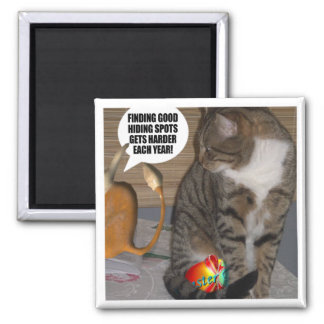 Easter Bilby Cards, T-Shirts, Easter Mugs & Gifts! 2 Inch Square Magnet