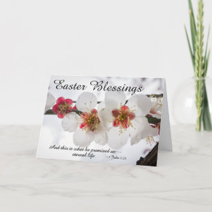 easter blessings 1 john 225 bible verse holiday card