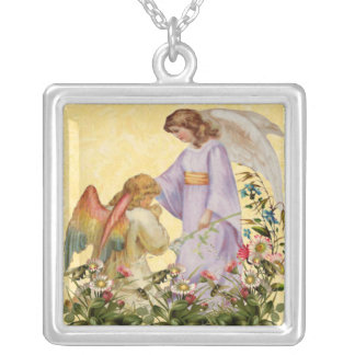Easter Blessings Angel Necklace