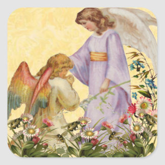 Easter Blessings Angel Stickers