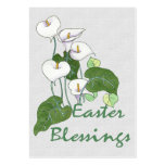 Easter Blessings Large Business Cards (Pack Of 100)
