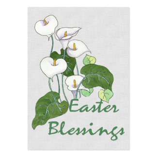Easter Blessings Business Cards