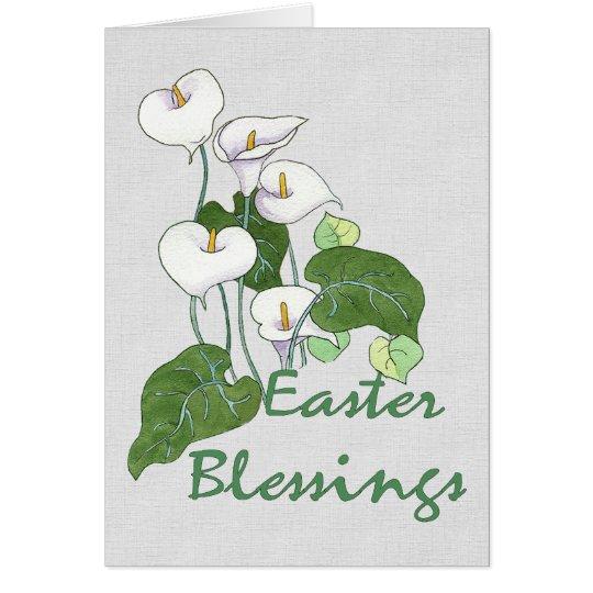 Easter Blessings Card