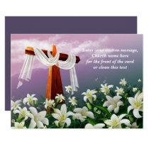 Easter Blessings. Christian Easter Cards