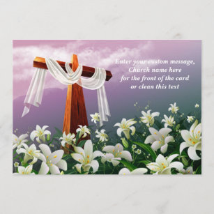 Christian easter cards greeting photo cards zazzle easter blessings christian easter cards m4hsunfo