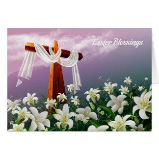 Easter Blessings.Customizable Easter Card