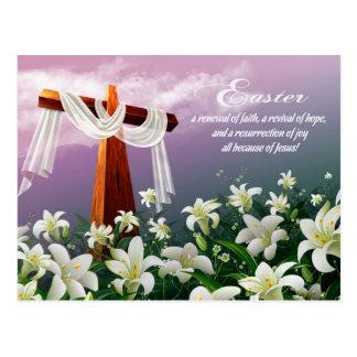 Easter Blessings. Customizable Easter Postcards